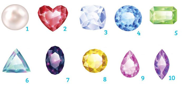 Odaberite dragi kamen koji vas najviše privlači i pogledajte šta to govori o vama…