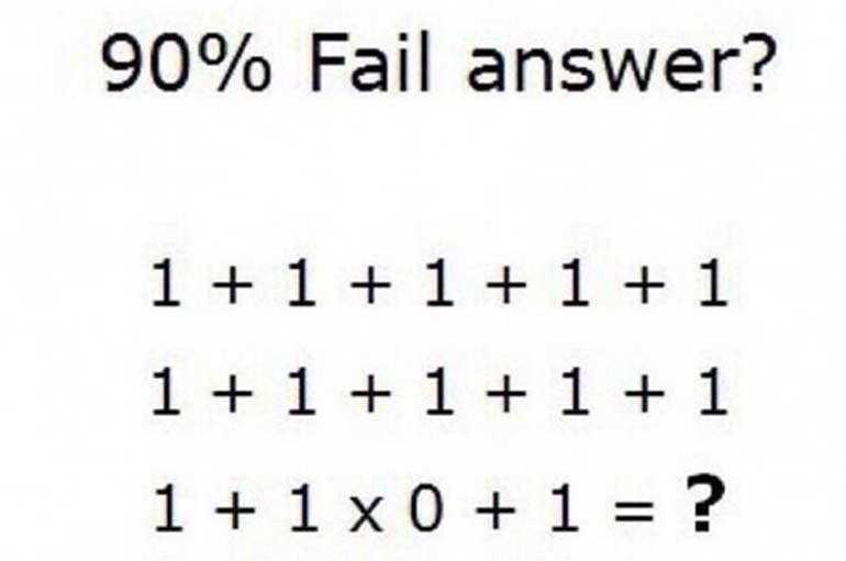 DOKAŽITE DA STE GENIJE: Samo 0,7 odsto ljudi tačno odgovari!