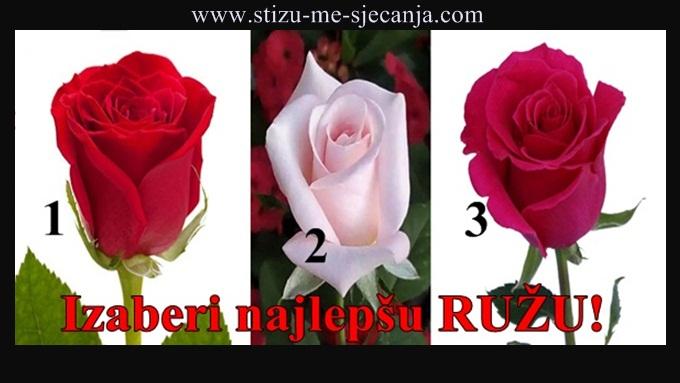 Izaberi najlepšu RUŽU i saznaj kako da pronađeš PRAVU LJUBAV