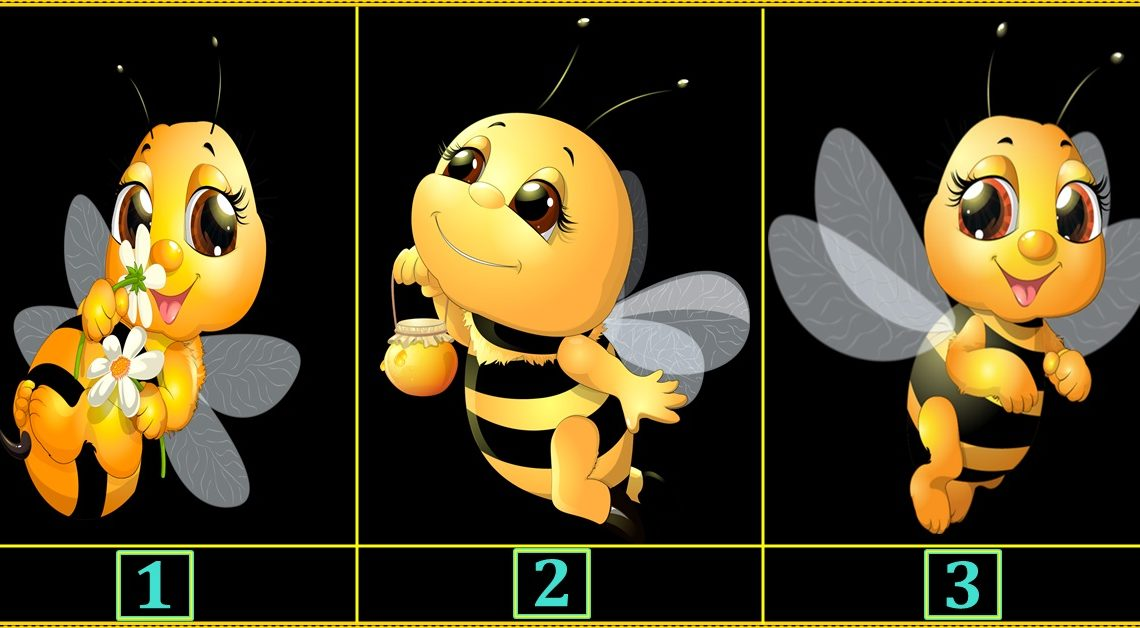 Srećna pčelica ti ispunjava jednu želju:Izaberi jednu i saznaj koju!